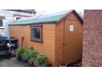 16x6 garden shed