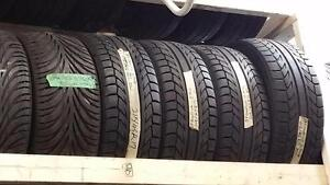Set of four tires size 215 45 17 for sale