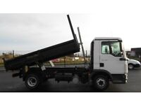 2013 MAN 7.5 T TGL SERIES 7.180 WITH BRAND NEW DROPSIDE TIPPING BODY. FULL PSV.
