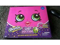 Shopkins lost edition - new with rare shopkins