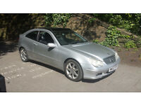 L@@K.. MERCEDES C220 CDI COUPE AUTO/TRIPTRONIC LEATHER CRUISE CON PANROOF LONGMOT CHEAPER PX WELCOME
