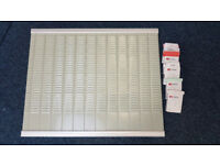 Two T Card Boards, wall charts 1 x 13 Columns, 1 x 8 columns with T Cards