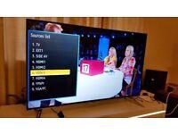 "PANASONIC 55"" Smart 4K ULTRA HD TV,built in Wifi,Freeview HD,NETFLIX,Great condition .2016 model"