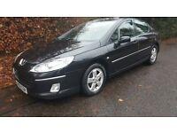 Peugeot 407, 2.0 turbo diesel hdi, low mileage!! 10 month MOT, cheap insurance & tax,