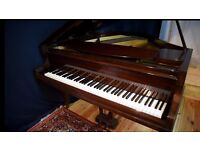 "CHALLEN BABY GRAND , BEAUTIFULL , ONLY 56"" W X 53 "" D . 9 PHOTOS PLUS VIDEO !"
