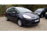 2007 Citroen Grand C4 Picasso 1.6 HDi 16v SX 7 Seats Auto with FSH+ NEW CAMBELT + NEW PAD