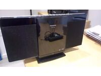 Panasonic Sc-hc25 Audio Shelf System with CD Player and iPod Dock