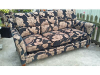 2 Piece Suite, 3 seater and 2 seater Sofas Good Condition