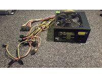 Atrix Expert 500W ATX PSU with 12cm Fan - Black