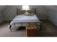 Super king size iron bed frame