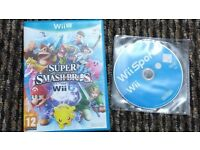 Super Smash Bros (Wii U) + Wii Sports Games