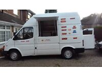 BURGER VAN HOTDOG CATERING VAN MOT 10 MONTHS TAXED LOW MILES 81K GOOD BUSINESS
