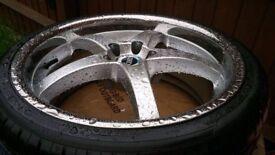 5x100 deep dish wheels