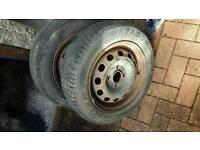"""Free wheels possibly suit a large trailer? 14"""""""