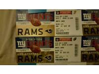 new york giants vs la rams best view tickets