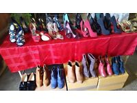 Selection of ladies shoes/boots