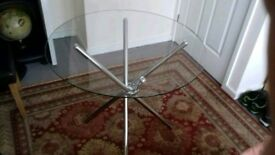 Glass dining table brand new was £150 with selling for £60 as moving home bargain