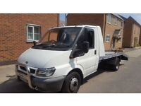 Ford transit low mileage recovery truck