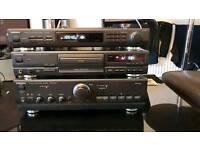 Technics amplifier cd