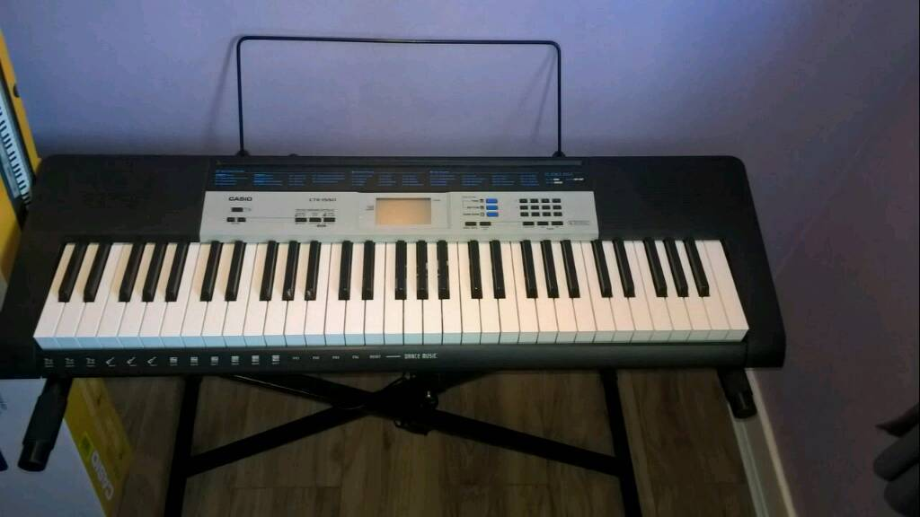 casio ctk 1550 digital keyboard and stand in springburn glasgow gumtree. Black Bedroom Furniture Sets. Home Design Ideas