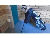 Mouse over image to Full set of LADIES Jessie Valantine Dunlop Golf clubs & all weather bag