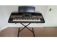 Yamaha PSR 9000 Keyboard. Excellent condition, stand, disks instruction books included.