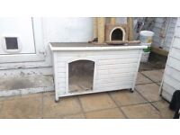 outdoor dog cat kennel/hutch