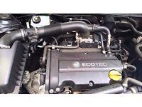 Vauxhall Astra, Meriva, Corsa 2007 Z14XEP ENGINE For Sale 68,000 Miles 30 Days Warranty