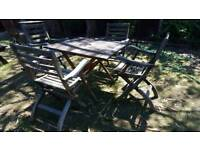Vintage solid x4 wood chairs RRP £199.