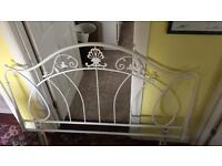 Metal headboard-double