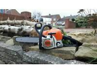 Stihl ms211 chainsaw