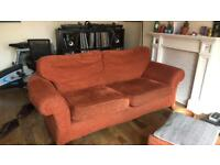 FREE SOFA SET! Two armchairs and a three seater sofa