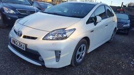 Toyota Prius PLUGIN Hybrid 1.8 WHITE UK Model Finance Available