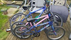 3x bikes need work