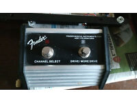Fender 2 button foot switch