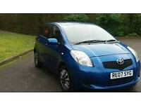 TOYOTA YARIS 2007 5DOOR 10SERVICES FROM TOYOTA MOT TILL 18/10/2017 58500 WARRANTED MILES HPI CLEAR