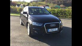 Audi Q3, Black 2.0 TDi SUV
