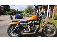 Harley Davidson Sportster 833 upgraded to 1200