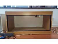Vivarium For Reptiles Brown Medium - Large