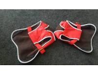 2 x Barbour dog coats