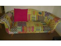 3 seater funky sofa