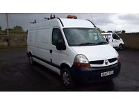 Renault Master lwb low mileage ldeal for camper van conversion