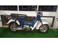 Honda ST70 Chaly fully restored step through c50 c70 c90 monkey bike