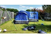 Hi Gear Zonobia 6 Tent Porch Carpets.