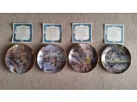 Bradford Exchange, Julie Kramer Cole, Spirits of the Seasons Plates.