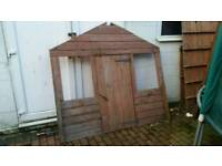 Children's play shed Wendy house