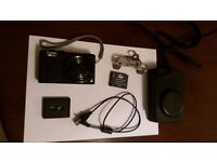 Panasonic Lumix DMC-TZ60, with Tamrac Bag, Mini-tripod and Leather Case (Rarely Used)