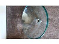 Glass Wash Hand Basin