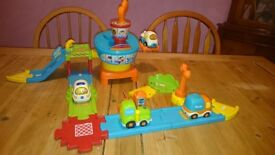 Toot toot drivers play set and transport