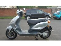 piaggio fly 50 2008 one owner in mint condition